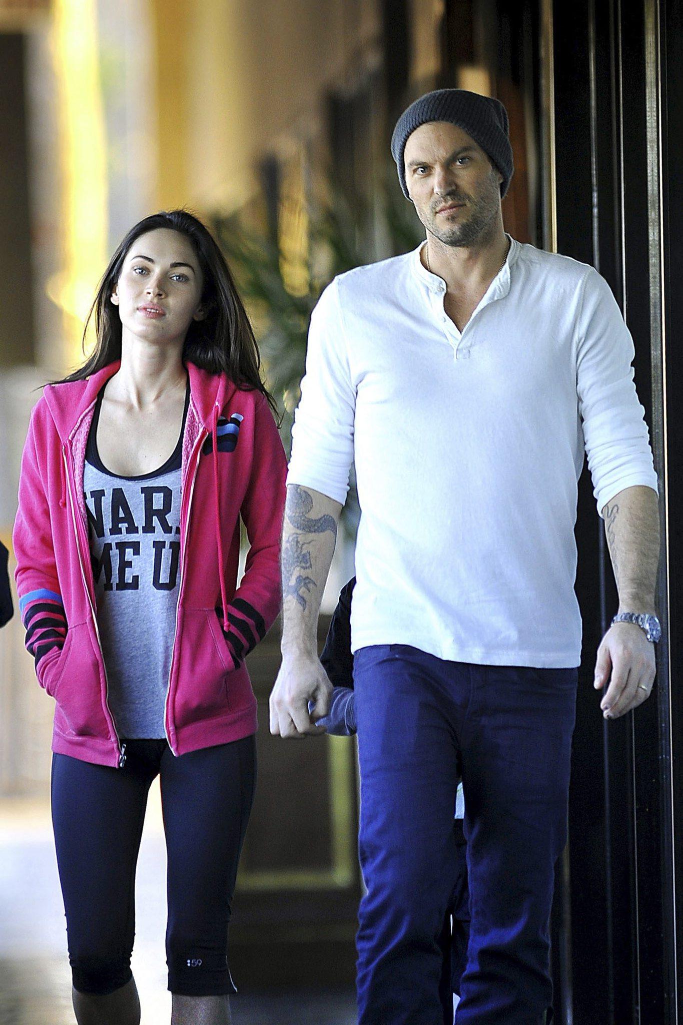 Ünlü oyuncu Megan Fox genç sevgilisi için yuvasını yıktı! Megan Fox ile Brian Austin Green boşanıyor!
