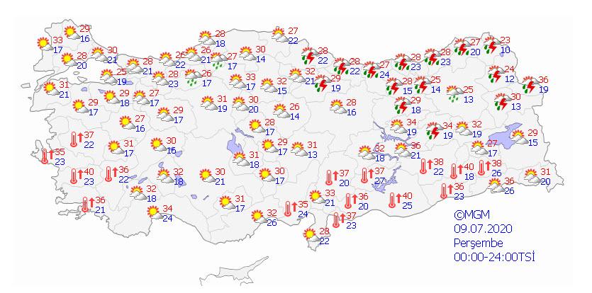 Son Dakika Haberi | Meteoroloji'den sarı kodlu uyarı: İstanbul ve 8 il için hava durumu
