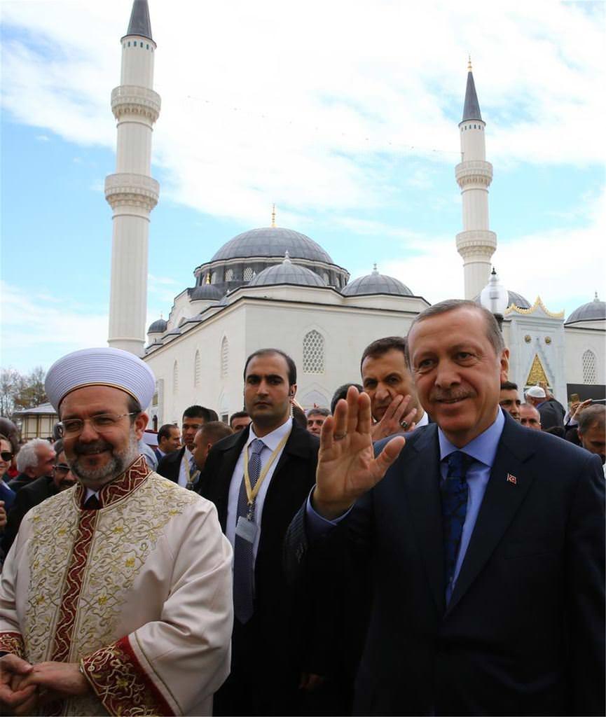 Cumhurbakan Erdoandan ABDde Tarihi Al