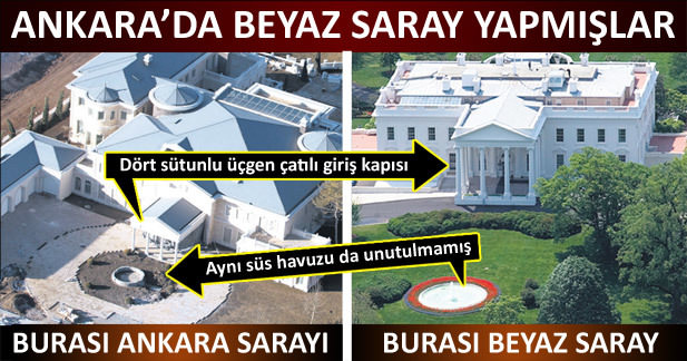 Fethullah Gülen in saray gibi villası