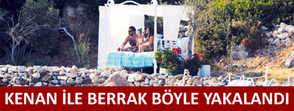 Kenan İmirzalıoğlu ile Berrak Tüzünataç tan yılın aşk bombası