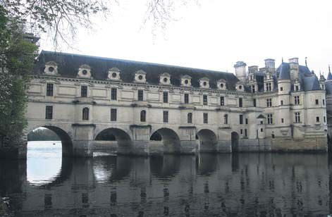 Chenonceau, Loire'ın en zarif şatosu olma unvanını asırlardır elinde tutuyor.