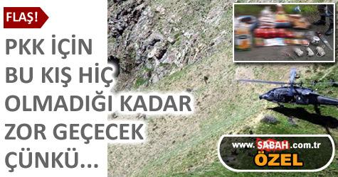 PKK bu kış aç kalacak
