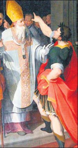 İmparator Büyük Theodosius ve Ambrose!..