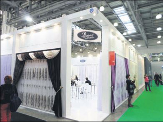 Türk ev tekstili ürünleri Moskova'da