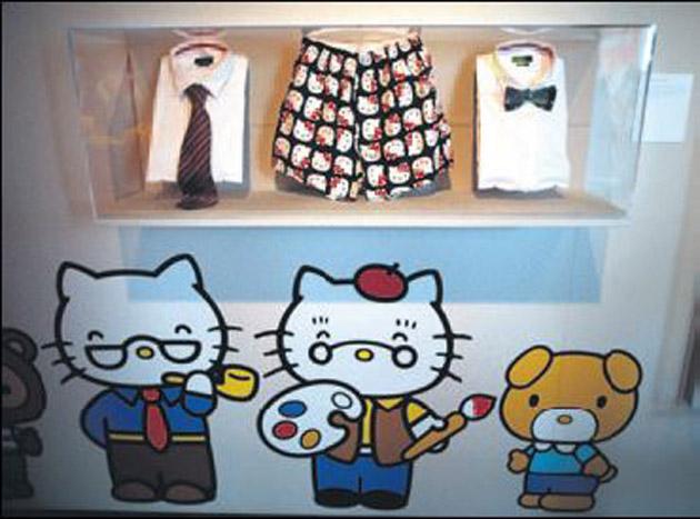 Hello Kitty için 40'ıncı yaş sergisi