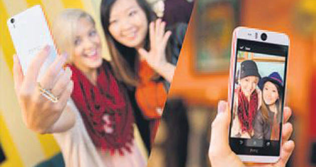 Özçekim dostu çift kameralı telefon