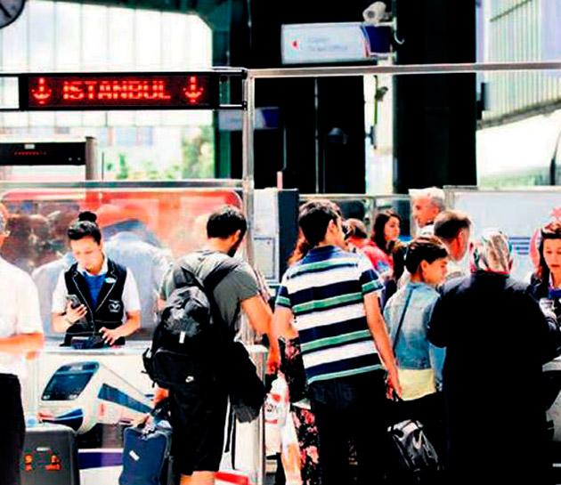Yüksek Hızlı Tren otobüsleri etkiledi