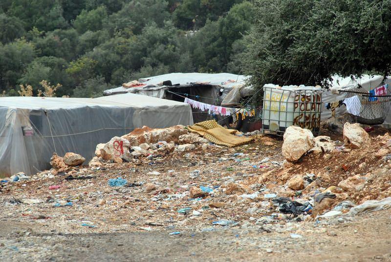 Çöpün içerisinde yaşam mücadelesi