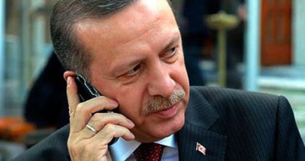 Erdoğan'ndan şehit ailelerine başsağlığı