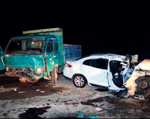 Trafik kazasında 3 kişi can verdi