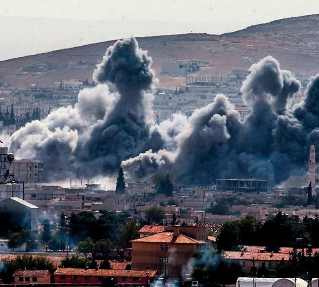 Türkiye sınırındaki çatışmalar yoğunlaştı