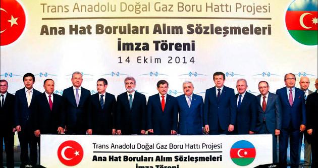 Azeri gazını Türk boruları taşıyacak