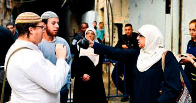 İsrailli vekiller Filistinli kadınlara destek verdi
