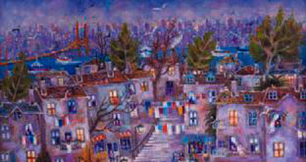 Betül Bapir sergisi Güneş Sanat'ta