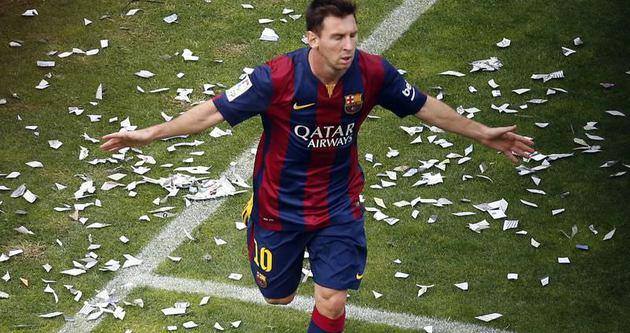 Messi Barcelona'da 10. yılında
