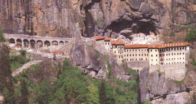 Sümela Manastırı, eski görünümüne kavuşuyor