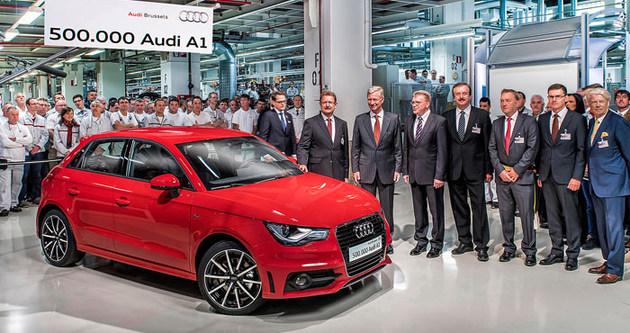 500 bininci Audi A1 üretildi