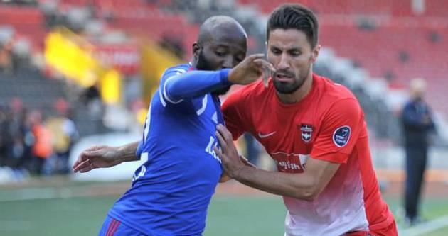 Gaziantepspor'a tek gol yetti