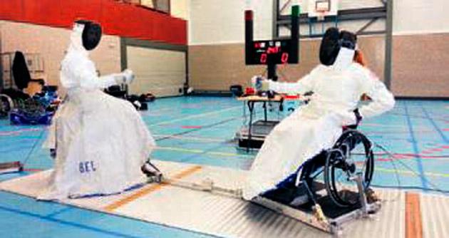 Engelli sporcular başarıya doymuyor