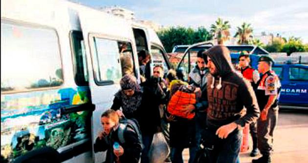 200 Suriyeli Avrupa yolunda yakalandı