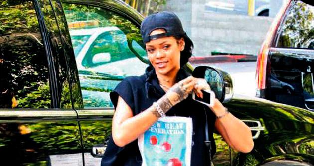 Hip-hop'çı Rihanna