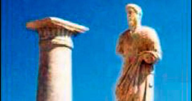 Yedi heykel bulundu