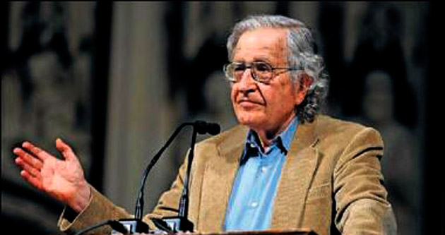 Noam Chomsky Isparta'nın konuğu