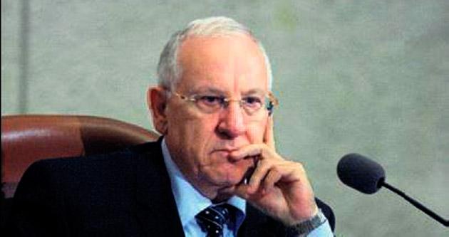Rivlin: İsrail toplumu hasta