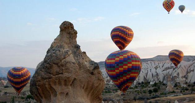 Balonlar yeniden havalandı
