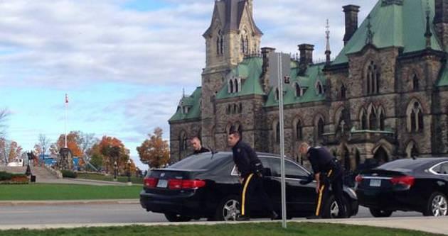 Kanada Parlamentosu'na saldırı