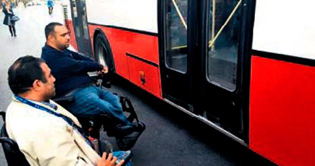 Ulaşıma 'engelli' isyanı
