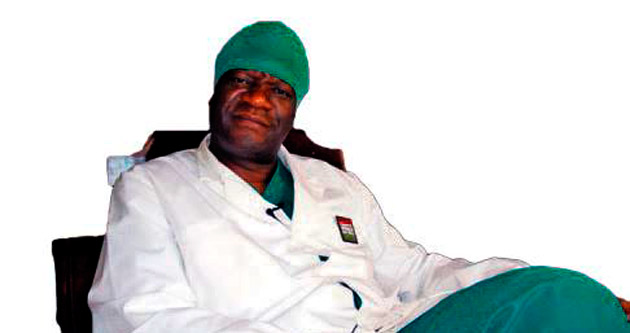 Saharov Ödülü Kongolu doktora