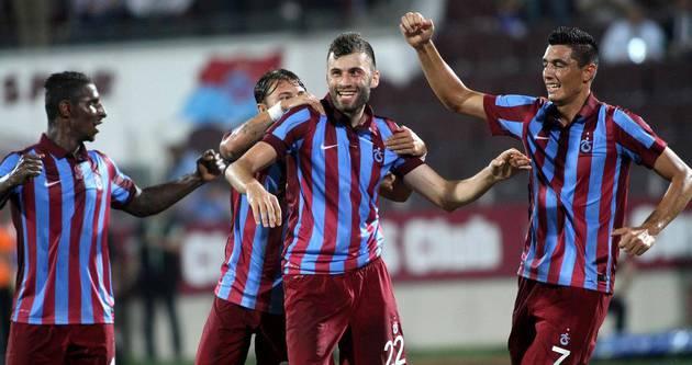 Trabzonspor üç puanı iki golle aldı