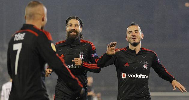 Beşiktaş, Partizan'a gol yağdırdı