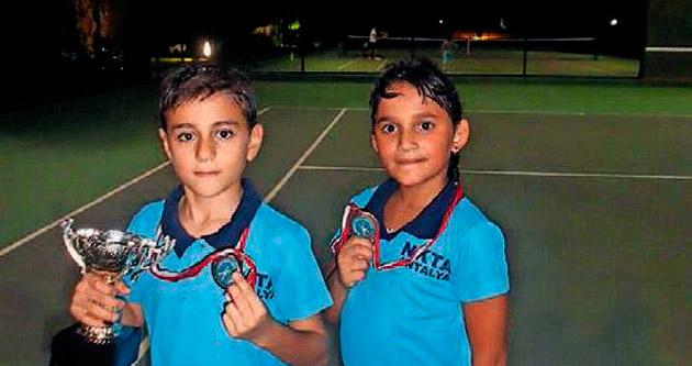 NK Tenis Akademisi başarıya doymuyor
