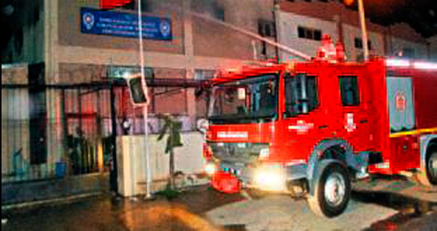 Kaçaklar, Geri Gönderme Merkezi'ni ikinci kez yaktı