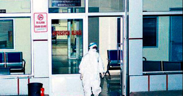 Ankara'da ebola virüsü hareketliliği