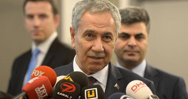 Arınç'tan 'Öcalan' açıklaması