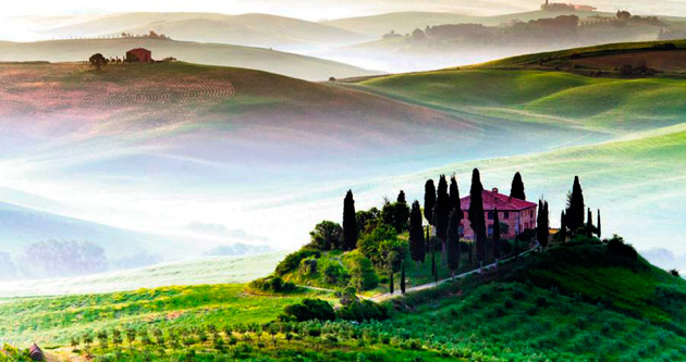 Doğası, tarihi ve mutfağıyla bir efsane Toskana
