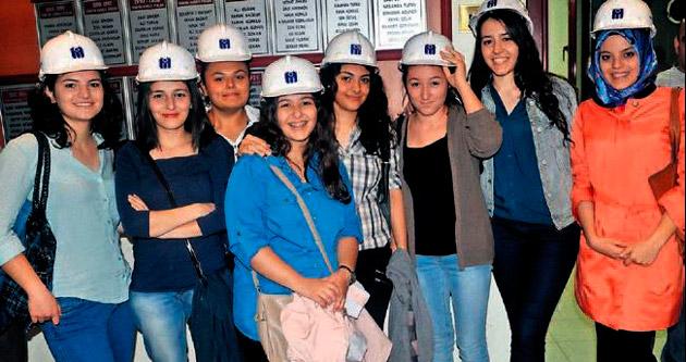 Genç mühendisler ustalarla tanıştı
