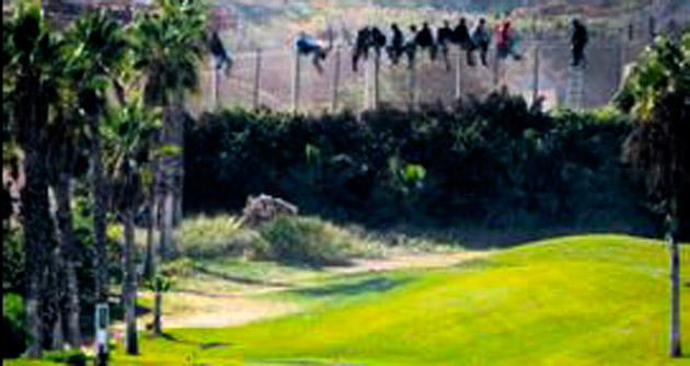Golf manzaralı sığınma harekâtı