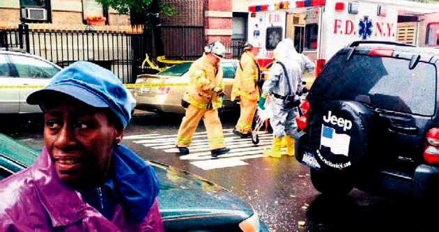 New York'ta ebola paniği