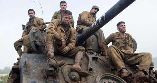 Brad Pitt'in yeni filmi Fury hakkında kritik