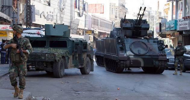 Lübnan'da askeri araca saldırı