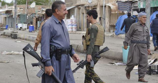 Peşmergeler Zummar'ı IŞİD'den elinden aldı