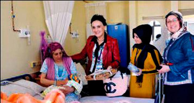 Bebeklere 'Hoş geldin' hediyesi Büyükşehir'den