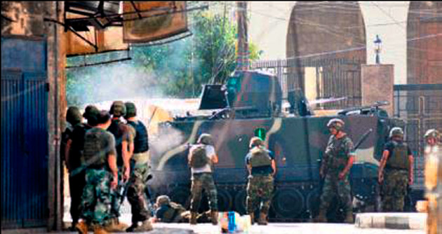 Çatışmalar tarihi çarşıya da sıçradı