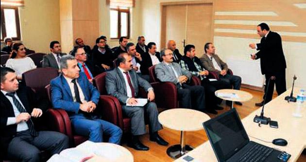 Belediye işçilerine 'torba' semineri