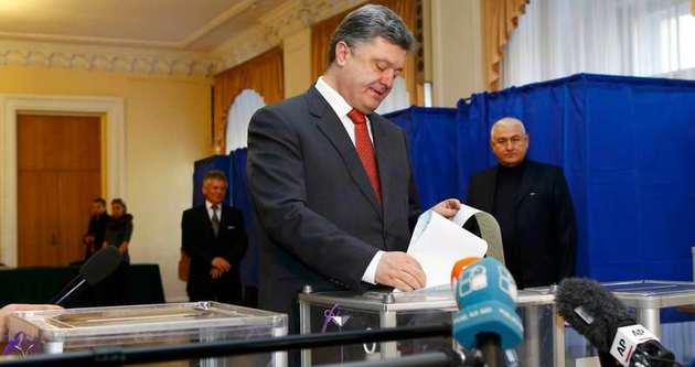 Ukrayna'da Poroshenko'nun partisi galip